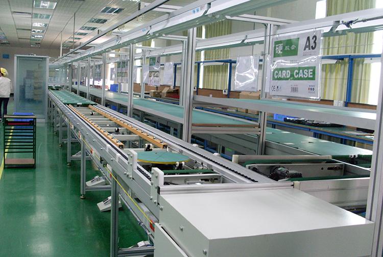 PVC输送带流水线